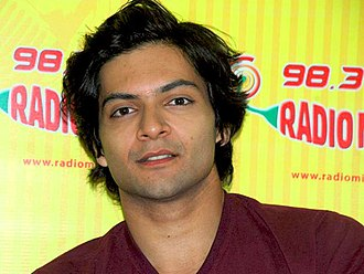 Ali Fazal - Fazal at a promotional event for Always Kabhi Kabhi, 2011