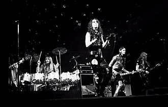 Alice Cooper (band) - Alice Cooper on the Killer Tour in 1972