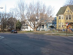 National Register of Historic Places listings in Minnehaha County, South Dakota - Image: All Saints Hist. Dist. Sioux Falls 1