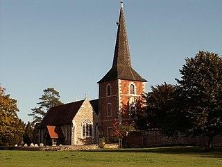 Terling village in United Kingdom