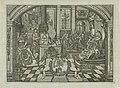 Allegorie op de geboorte van de prins van Oranje, 1748 Nederlands Erfprins Graaf van Buren Gebr. den 8 Maart 1748 (titel op object), RP-P-OB-83.990.jpg
