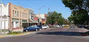 Alliance, Nebraska - Downtown Alliance: Box Butte Avenue