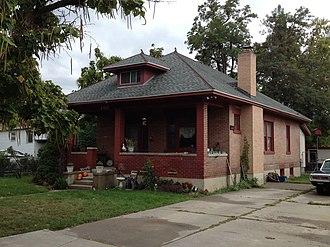 National Register of Historic Places listings in Salt Lake County, Utah - Image: Allsop Anderson House Sandy UT