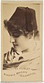 Alma Stanley, from the Actors and Actresses series (N45, Type 1) for Virginia Brights Cigarettes MET DP830020.jpg