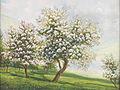 Alois Tott Blühende Obstbäume.jpg