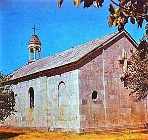 History of Nagorno-Karabakh - Amaras Monastery, 4th century