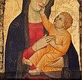 Ambito di lippo di benivieni, madonna col bambino, dalla chiesa di cerreto maggio, 03.jpg