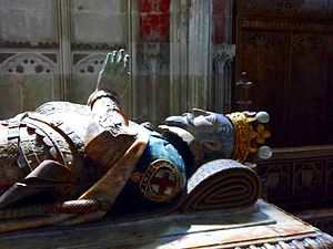 Ambrose Dudley, 3rd Earl of Warwick - Funeral effigy of Ambrose Dudley in the Beauchamp Chapel of Collegiate Church of St Mary, Warwick