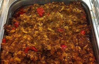 American chop suey - American chop suey