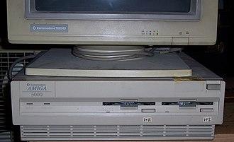 Amiga 3000 - Amiga 3000 system