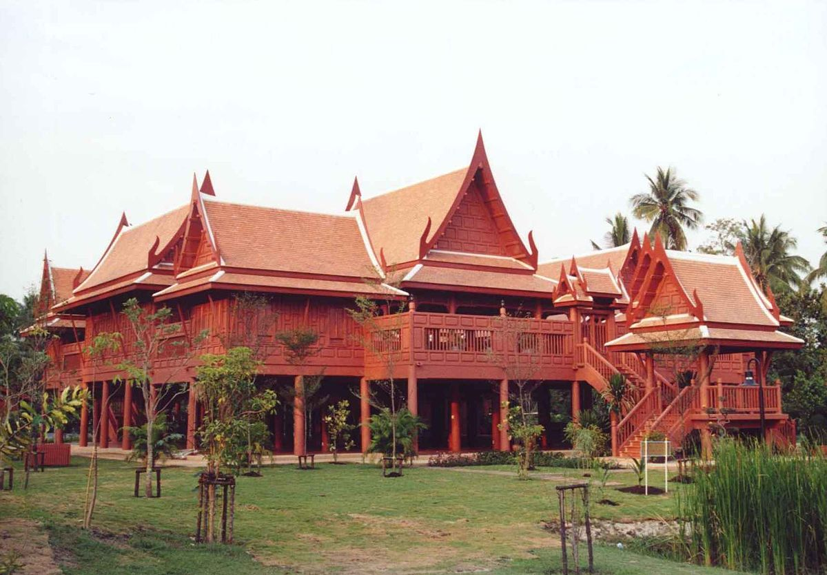 Traditional thai house wikipedia for Thai classic house 2
