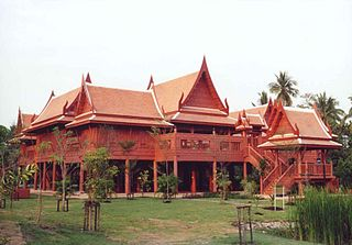 Amphawa District District in Samut Songkhram, Thailand