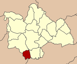 Amphoe location in کالاسن صوبہ
