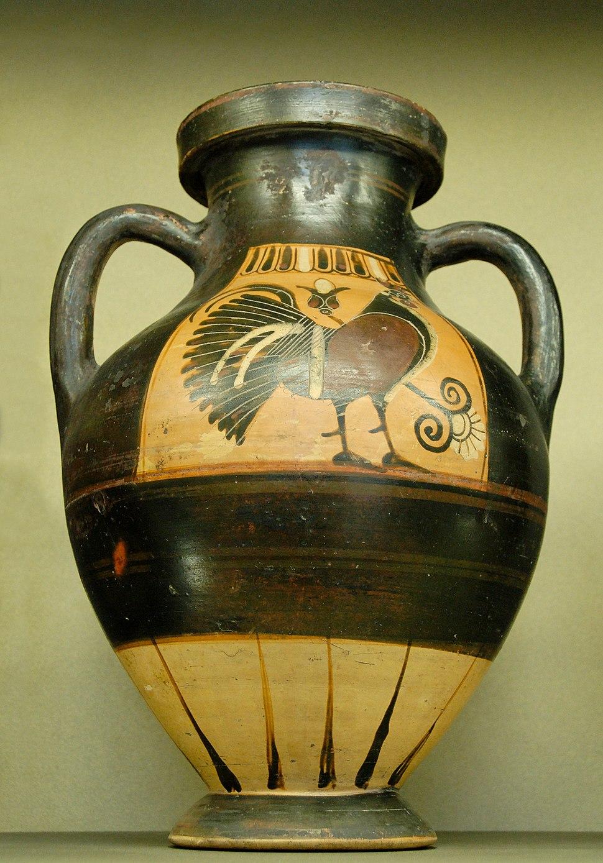 Amphora cockerel Louvre E646