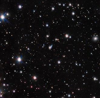 Light echo - An echo of light detected by ESO's VLT Survey Telescope .