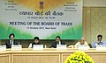 Anand Sharma Chairing the Board of Trade meeting, in New Delhi on October 11, 2011. The Minister of State for Commerce and Industry, Shri Jyotiraditya Scindia is also seen.jpg