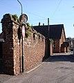 Ancient Wall, Bishop's Palace, Paignton - geograph.org.uk - 366051.jpg