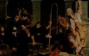 Andrea Lilio - Story of St Nicola