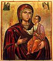 Andrea ritzos (scuola), madonna odighitria, xvi secolo.jpg