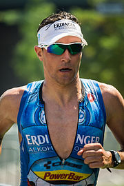 Andreas Raelert in Frankfurt beim Ironman Germany (2015)