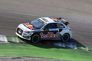 2015 World RX of Italy - Former British RX and BTCC champion Andrew Jordan made his third appearance in a WRX Supercar