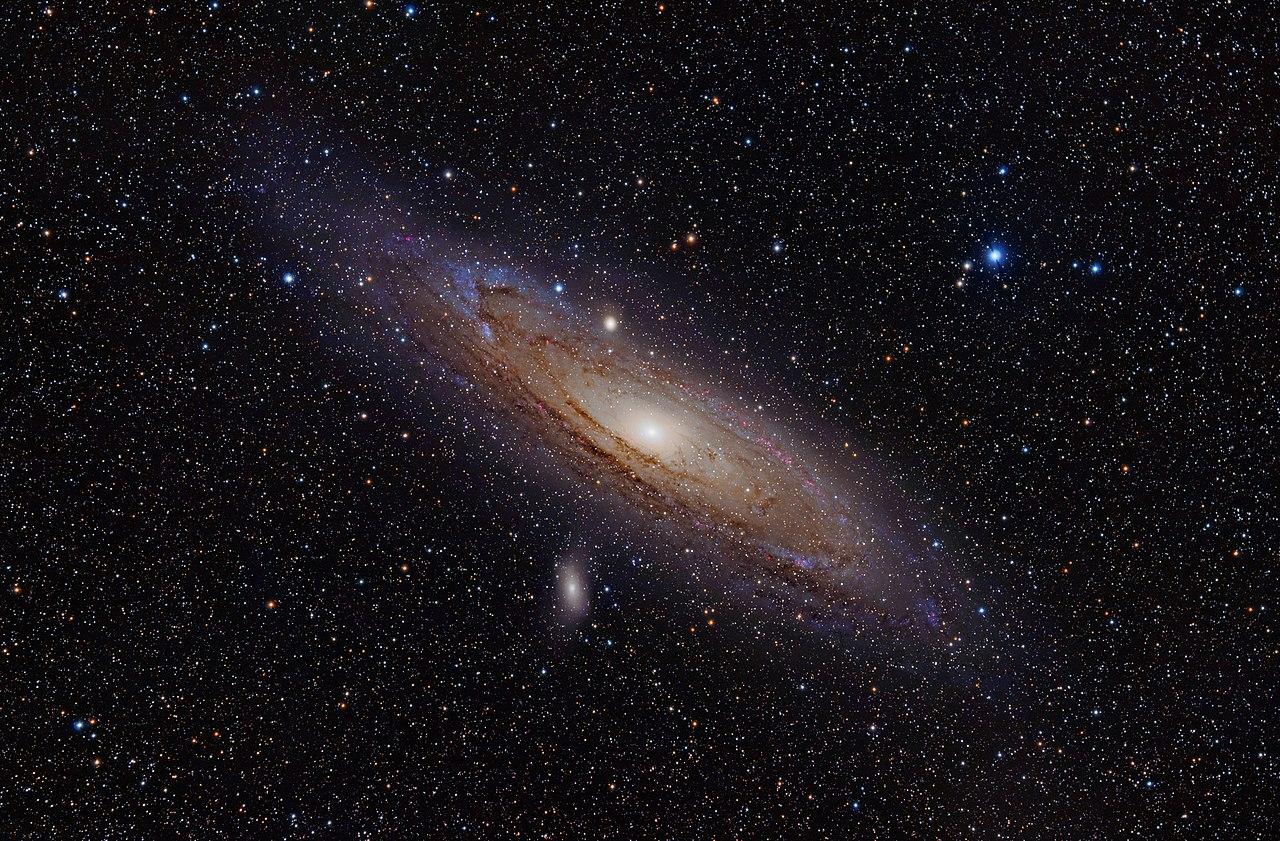 Туманность Андромеды Галактика M31