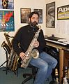 Andy Scott (saxophonist and composer) 2015.jpg