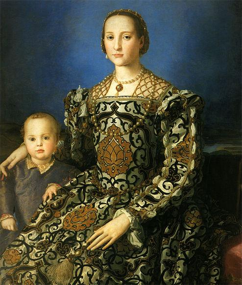 Angelo Bronzino's famous portrait of Eleonora di Toledo and her son Giovanni