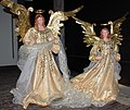 Angels in the St Bavochurch Haarlem to give welcome to the visitors - panoramio.jpg