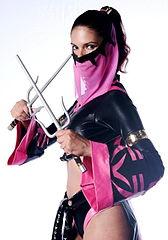 x Mileena mortal cosplay kombat