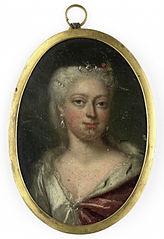 Anna van Hannover (1709-59). Echtgenote van prins Willem IV