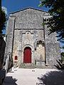 Annepont (Charente-Maritime) Église Saint-André PA00104592 façade.JPG