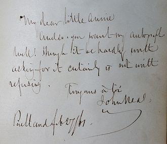 John Neal (writer) - Image: Annie Shepley Christmas 186