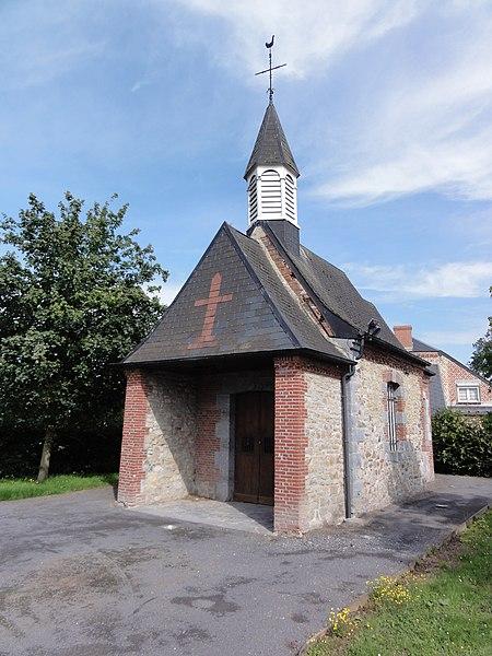 Anor (Nord, Fr)chapelle St.Gorgon (circuit chapelles)