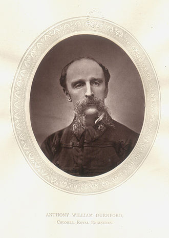 Anthony Durnford - Anthony Durnford in 1870