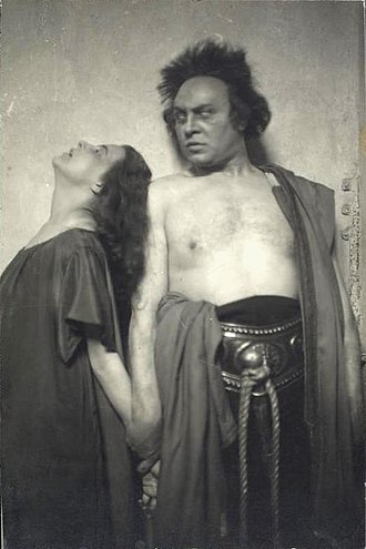 Emil Jannings - Jannings as Kreon in Hasenclever's Antigone, Großes Schauspielhaus, 1920