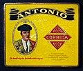 Antonio Corrida, NV Nederlandsche Havana Sigarenfabriek vh Maurits Azijnman, sigarenblik, foto 1.JPG