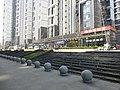 Apartment buildings Nanhu East Station - P1520497.JPG