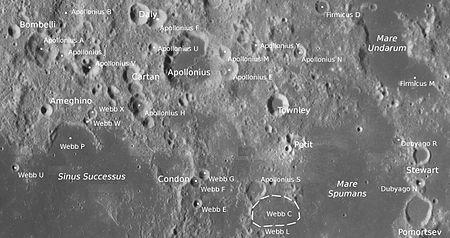 康登陨石坑