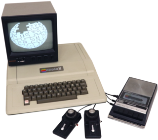 Apple II First computer model in the Apple II series