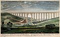 Aqueduct, Lisbon, Portugal; panoramic view over the Valley o Wellcome V0012838.jpg