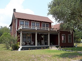 National Register of Historic Places listings in DeSoto County, Florida - Image: Arcadia FL Ralls House 07
