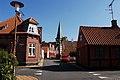 Architecture of Rønne (Lygtestræde, view of Sct. Nicolai Kirke). Bornholm, Denmark, Northern Europe.jpg