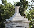 Arlington National Cemetery - urn atop Roosevelt Gate - 2011.jpg