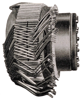 Armature (electrical) power-producing component of an electric machine