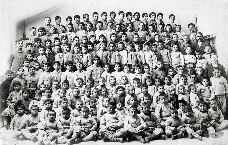 File:Armenian Orphans, Merzifon, 1918.jpg