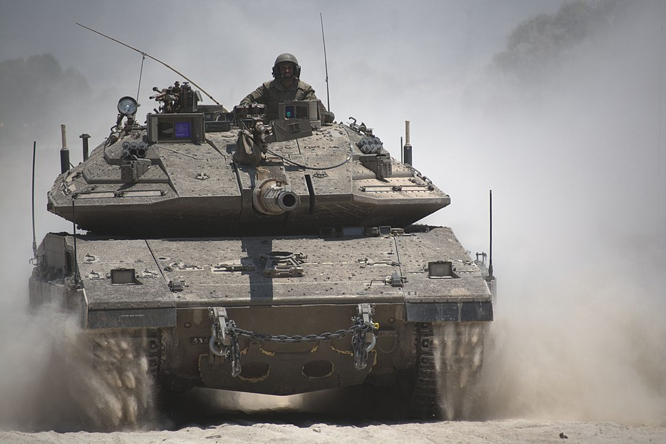 Armored Corps Operate Near the Gaza Border (14537008909)-1