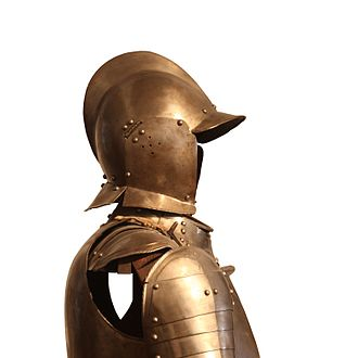 Swiss arms and armour - Typical footman's armour of the early 17th century
