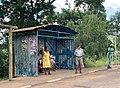 Arrêt de bus à Bambous, Maurice (février 2020).jpg