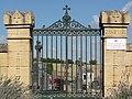 Arrancy-sur-Crusne (Meuse) portail cimetière communal.JPG